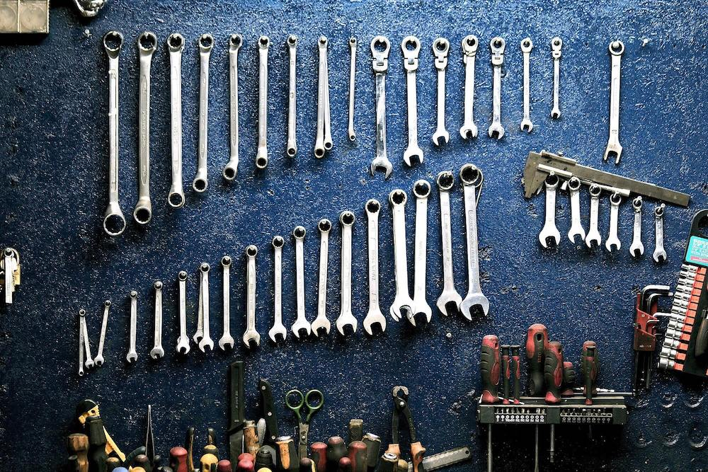Picture of Spanners as they resemble tools